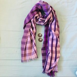Purple Two Toned Scarf